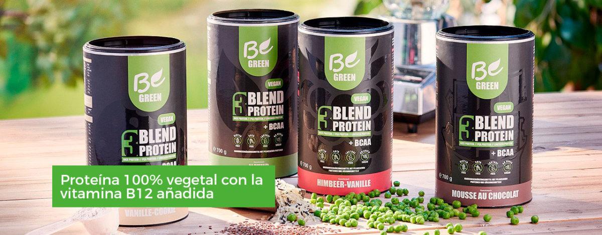 Proteina para deporte profesional de origen puramente vegetal Contiene la vitamina B12